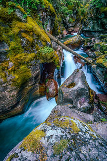 Avalanche Creek, Glacier National Park,