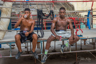 Rafael Trejo, boxing gym, Havana, Cuba, athletes, boxing