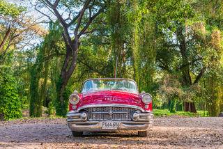 Havana, Cuba, Buick, classic car, park, Parque Almendares
