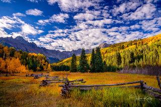 fall color, autumn, Colorado, ranch, mountain, landscape