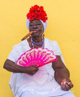 Santera, Santeria, Havana, Cuba