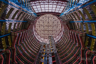 James R. Thompson Center, Chicago, downtown Chicago, rotunda, popular site