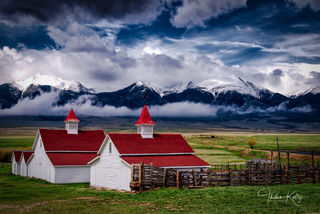 Waverly House, Beckwith ranch, Wet Mountains, Colorado, cattle ranch, landscape