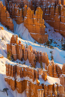 Bryce Canyon National Park, Utah, winter, landscape