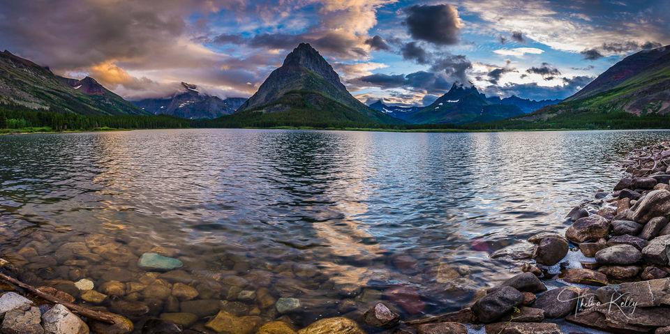 Two Medicine Lake print