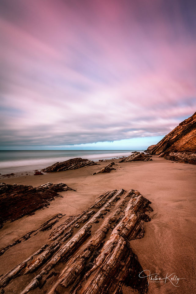 Sunset At Gaviota Beach print