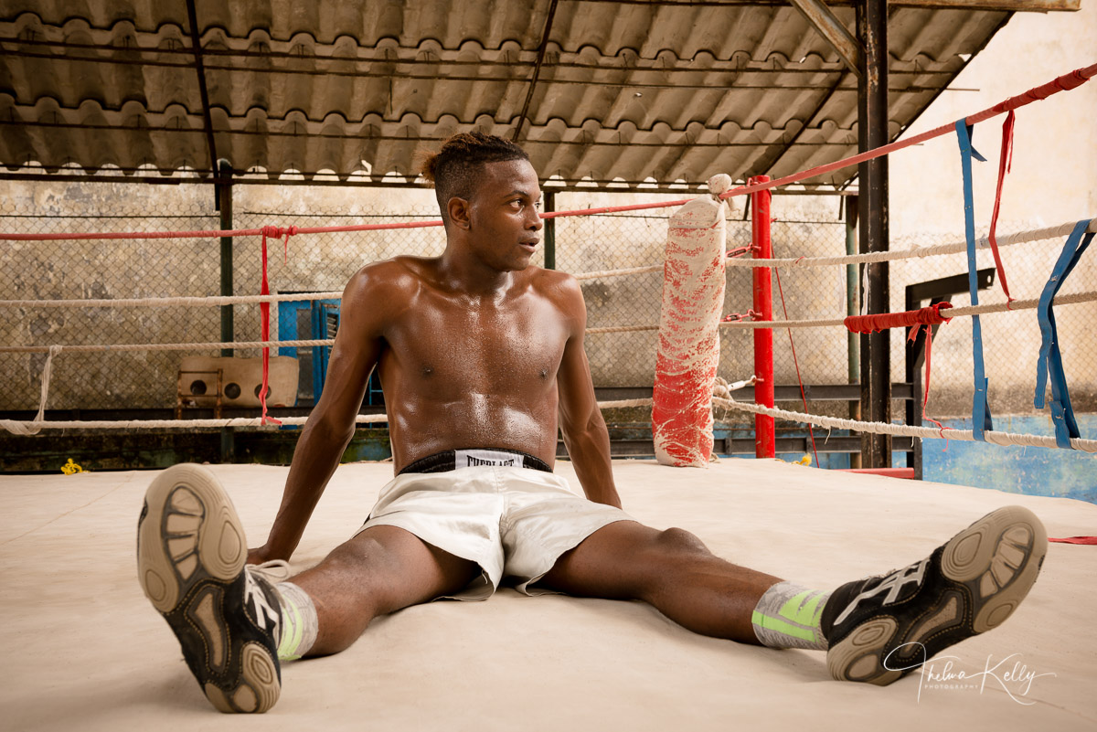 Rafael Trejo, boxing gym, Havana, Cuba, athletes, boxing, photo