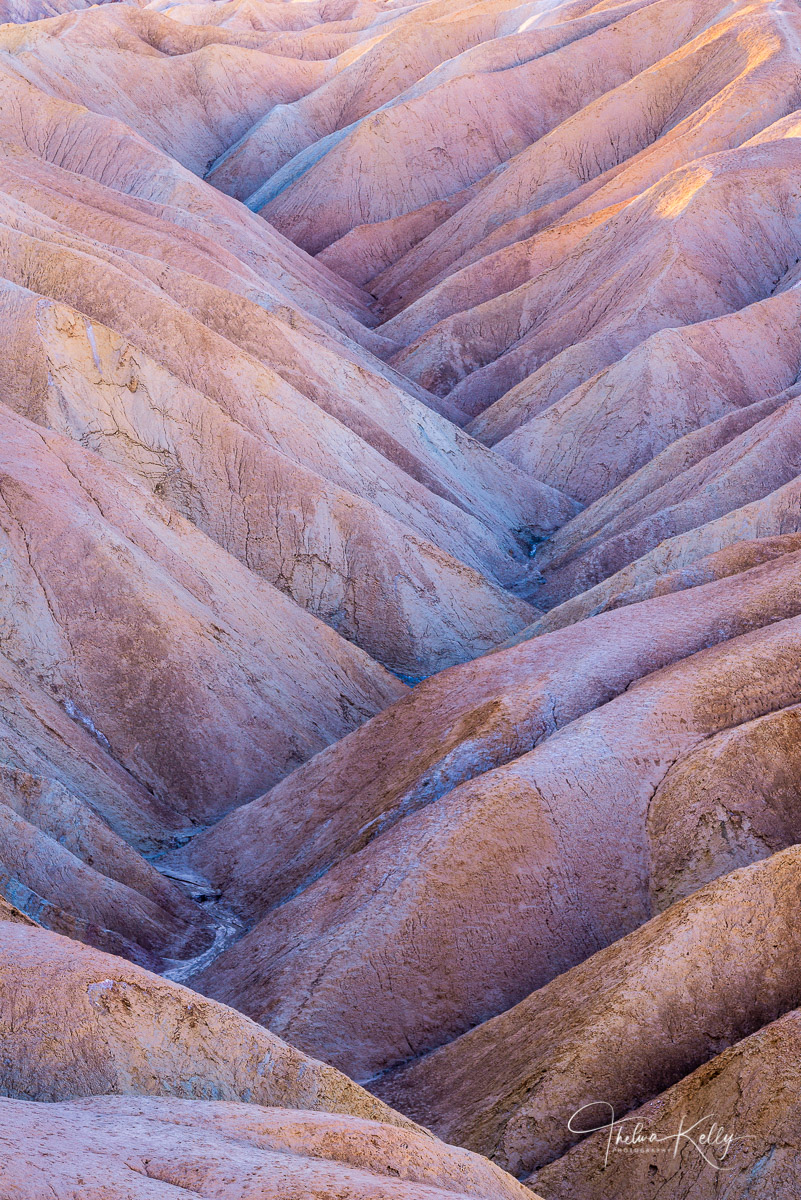 Death Valley National Park, national parks, abstract, deserts, ravines, undulating landscape, photo