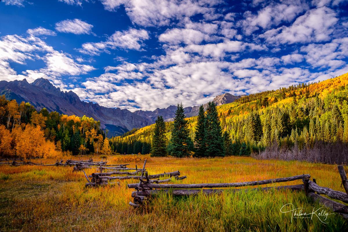 fall color, autumn, Colorado, ranch, mountain, landscape, photo
