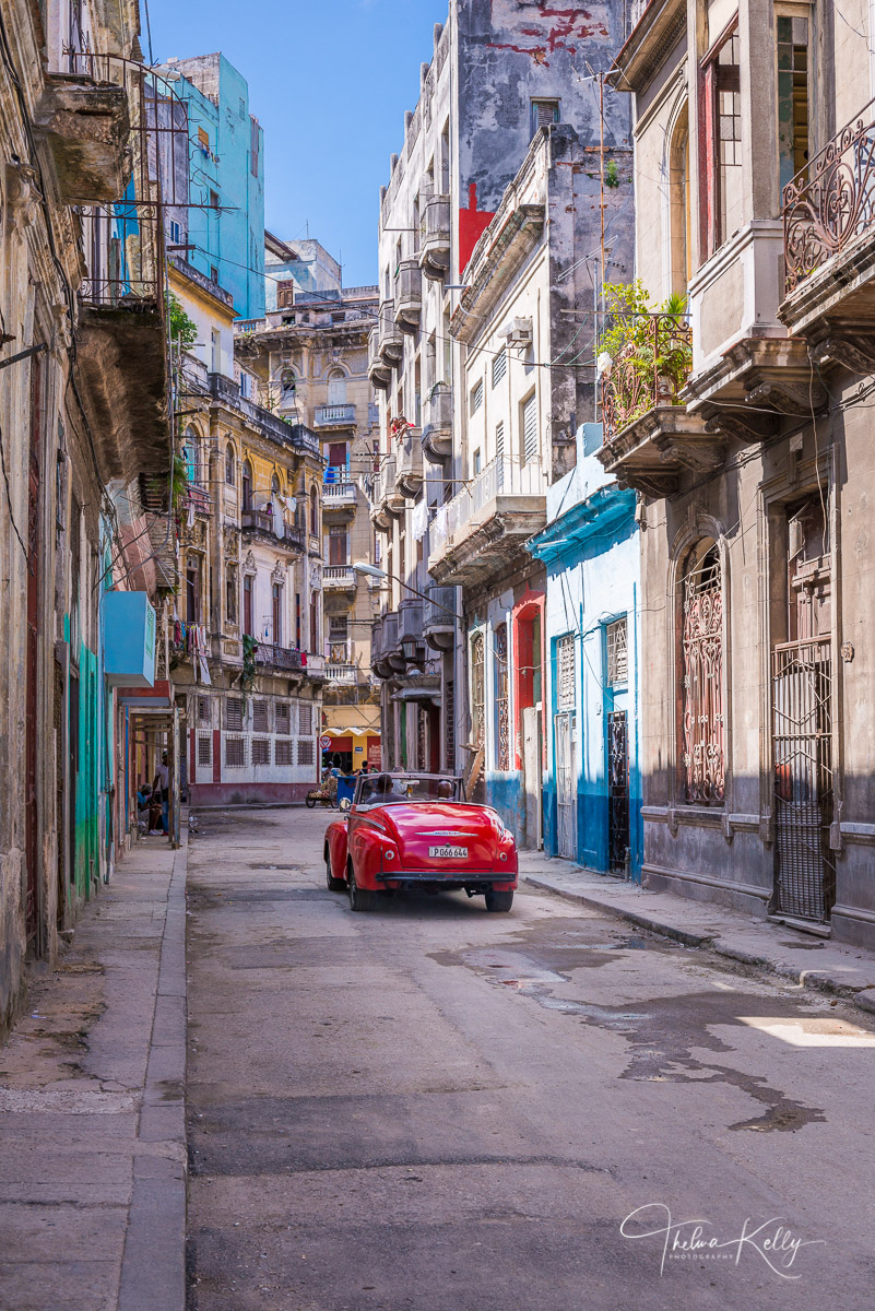 Havana, Cuba, cuban streets, classic cars, photo