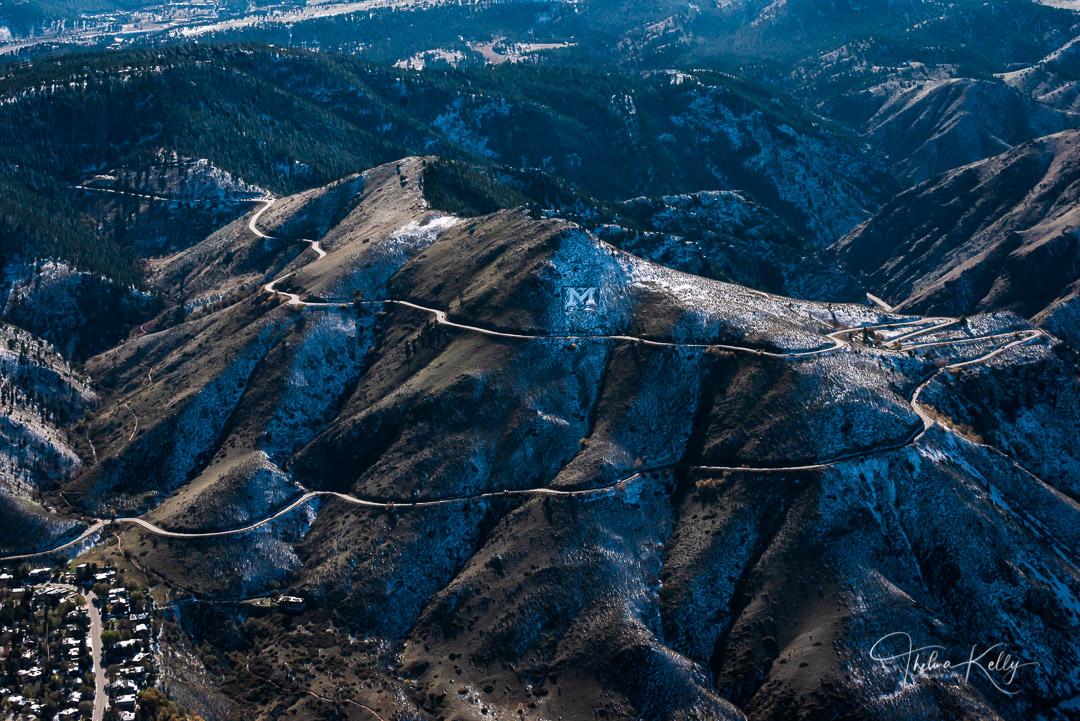 Golden, Colorado, School of Mines, aerial view engineering, applied sciences, photo