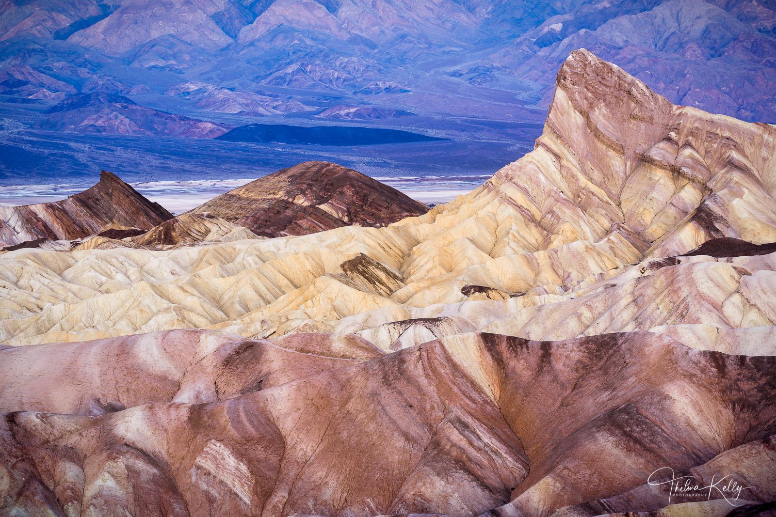 Death Valley National Park, national park, sunrise, Zabriskie Point, desert, California, photo