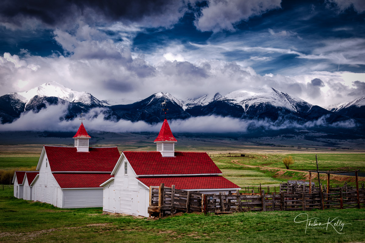 Waverly House, Beckwith ranch, Wet Mountains, Colorado, cattle ranch, landscape, photo
