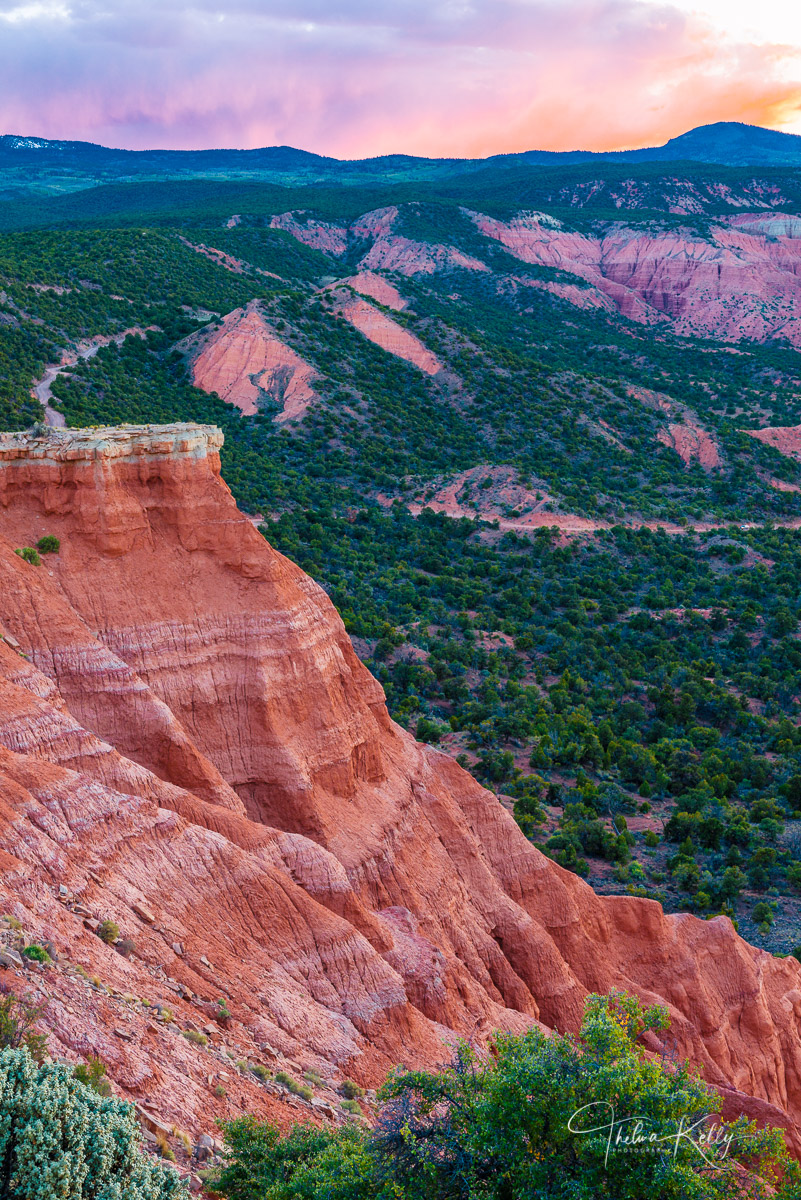 Capitol Reef National Park, Utah, cliff, cliffs edge, landscape, photo